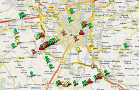 Google Maps e le prostitute diMilano